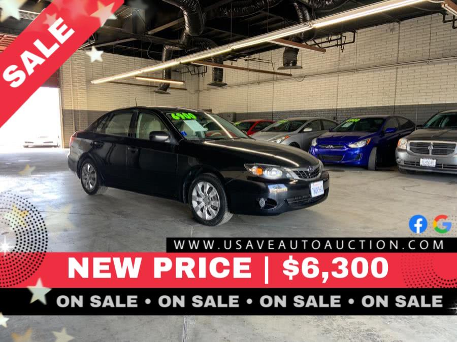 Used 2008 Subaru Impreza Sedan in Garden Grove, California | U Save Auto Auction. Garden Grove, California
