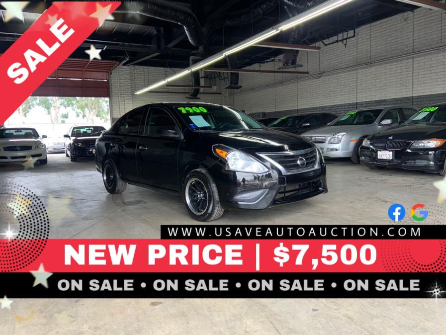 Used Nissan Versa 4dr Sdn CVT 1.6 S Plus 2015 | U Save Auto Auction. Garden Grove, California
