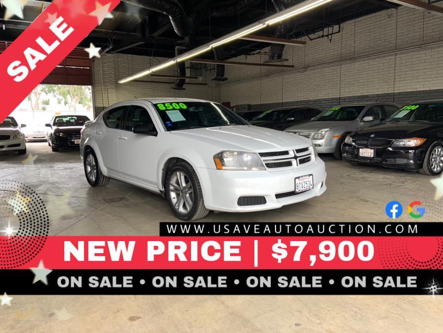 Used Dodge Avenger 4dr Sdn SE V6 2013 | U Save Auto Auction. Garden Grove, California