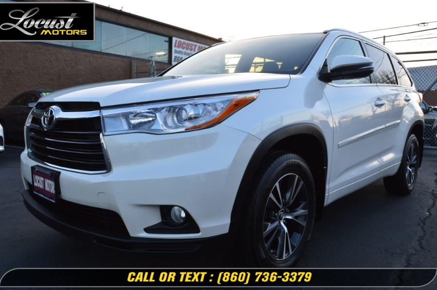 Used 2016 Toyota Highlander in Hartford, Connecticut | Locust Motors LLC. Hartford, Connecticut