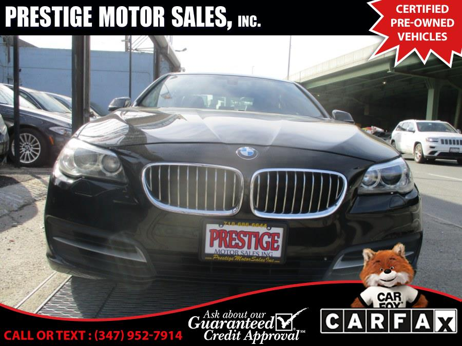 Used 2014 BMW 5 Series in Brooklyn, New York | Prestige Motor Sales Inc. Brooklyn, New York
