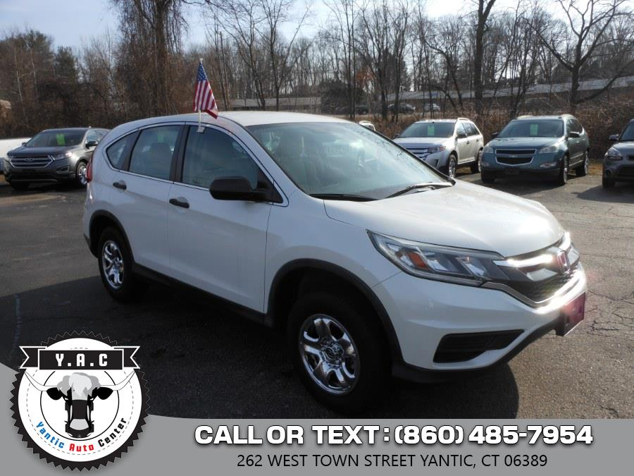 Used 2015 Honda CR-V in Yantic, Connecticut | Yantic Auto Center. Yantic, Connecticut