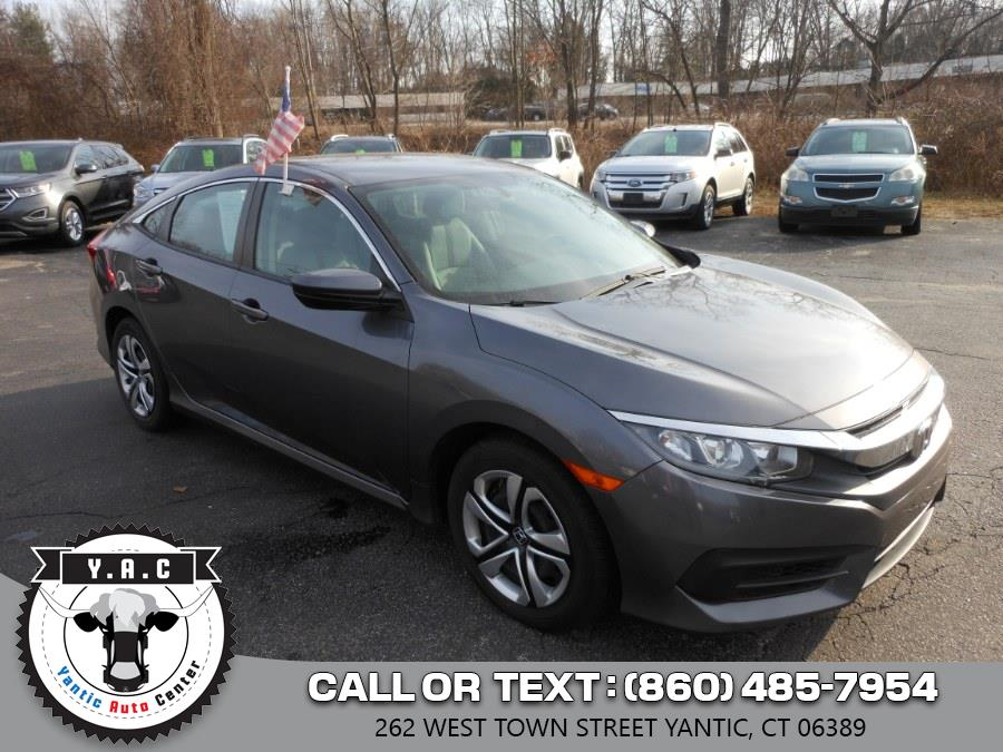 Used 2016 Honda Civic Sedan in Yantic, Connecticut | Yantic Auto Center. Yantic, Connecticut