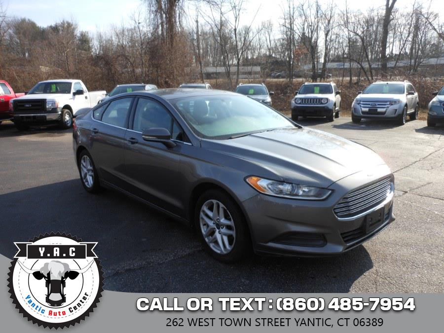 Used 2014 Ford Fusion in Yantic, Connecticut | Yantic Auto Center. Yantic, Connecticut