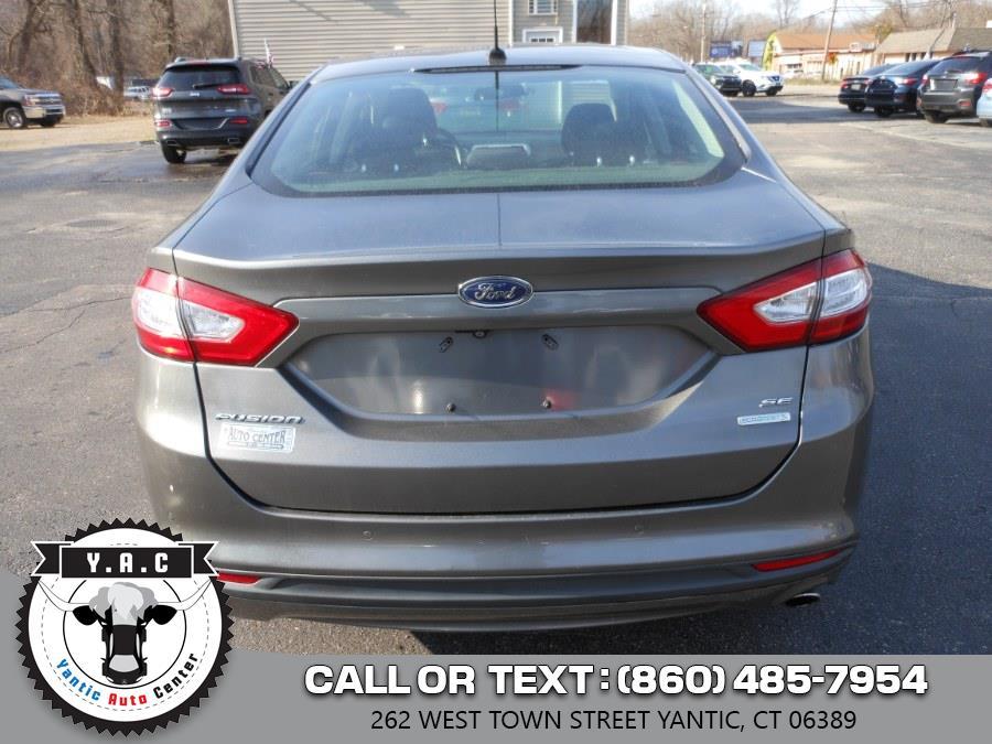 Used Ford Fusion 4dr Sdn SE FWD 2014   Yantic Auto Center. Yantic, Connecticut