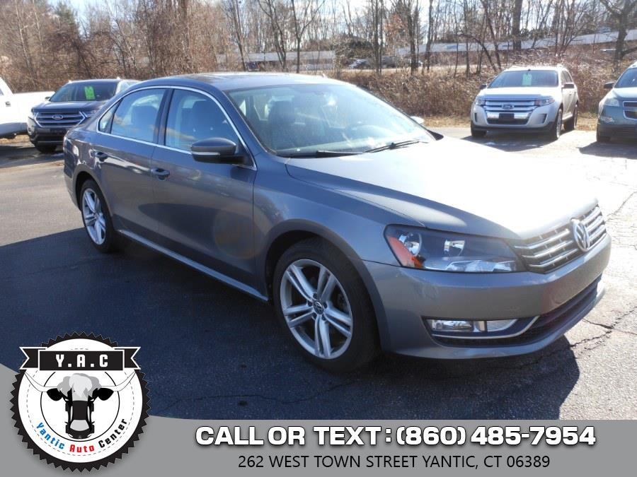 Used 2014 Volkswagen Passat in Yantic, Connecticut | Yantic Auto Center. Yantic, Connecticut