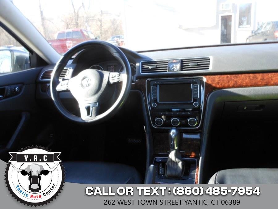 Used Volkswagen Passat 4dr Sdn 2.0L DSG TDI SEL Premium 2014 | Yantic Auto Center. Yantic, Connecticut