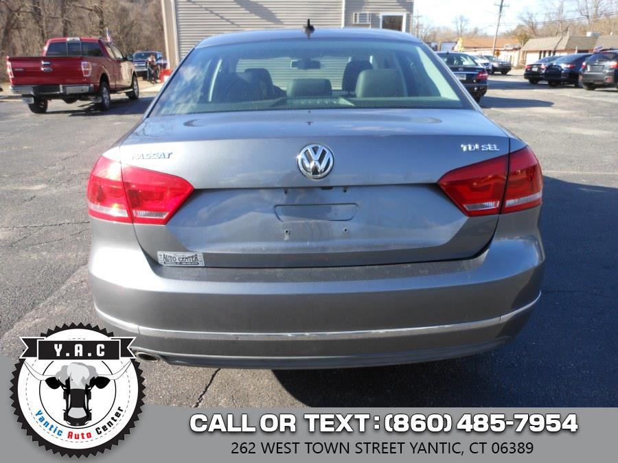 Used Volkswagen Passat 4dr Sdn 2.0L DSG TDI SEL Premium 2013 | Yantic Auto Center. Yantic, Connecticut