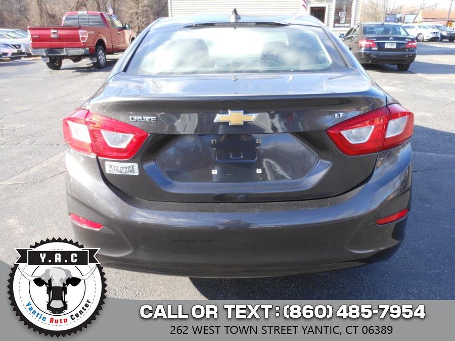 Used Chevrolet Cruze 4dr Sdn 1.4L LT w/1SD 2017 | Yantic Auto Center. Yantic, Connecticut