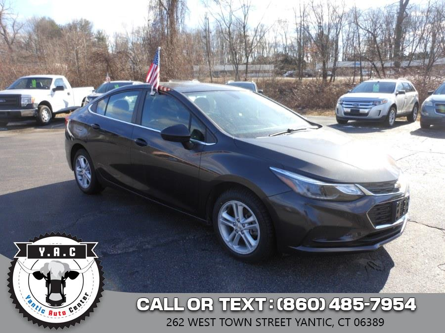 Used 2017 Chevrolet Cruze in Yantic, Connecticut | Yantic Auto Center. Yantic, Connecticut