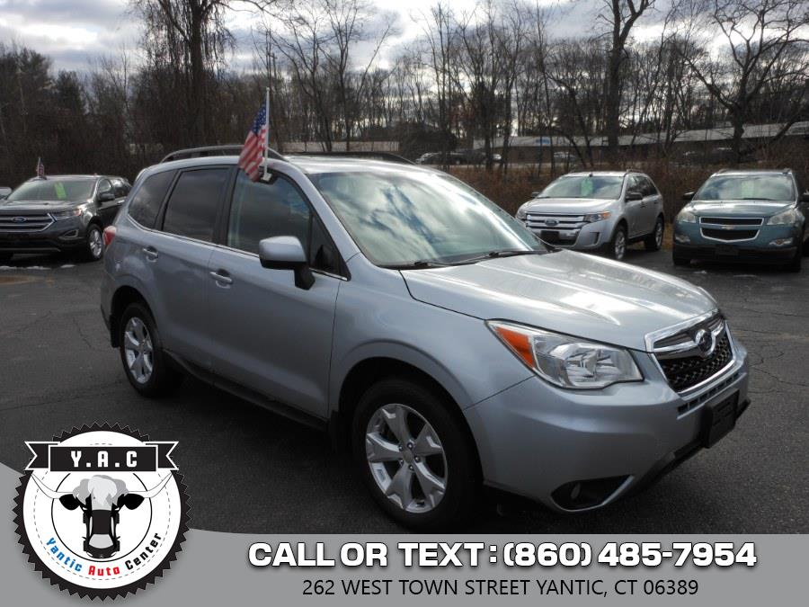 Used 2014 Subaru Forester in Yantic, Connecticut | Yantic Auto Center. Yantic, Connecticut