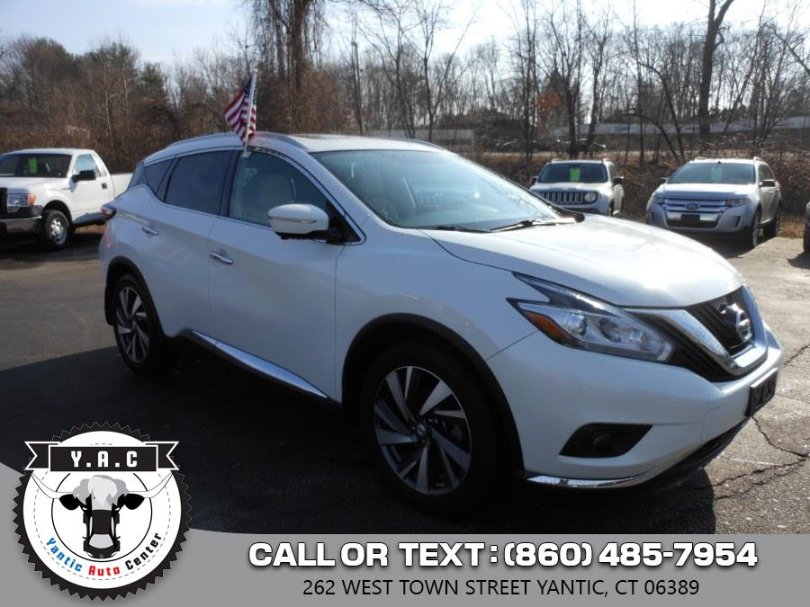 Used 2015 Nissan Murano in Yantic, Connecticut | Yantic Auto Center. Yantic, Connecticut
