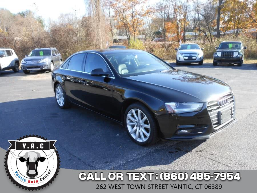 Used 2013 Audi A4 in Yantic, Connecticut | Yantic Auto Center. Yantic, Connecticut