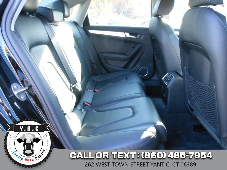 Used Audi A4 4dr Sdn Auto quattro 2.0T Premium Plus 2013 | Yantic Auto Center. Yantic, Connecticut