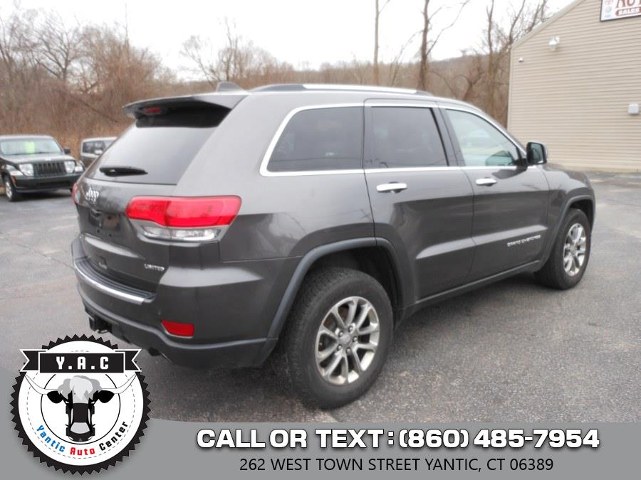 Used Jeep Grand Cherokee 4WD 4dr Limited 2015 | Yantic Auto Center. Yantic, Connecticut