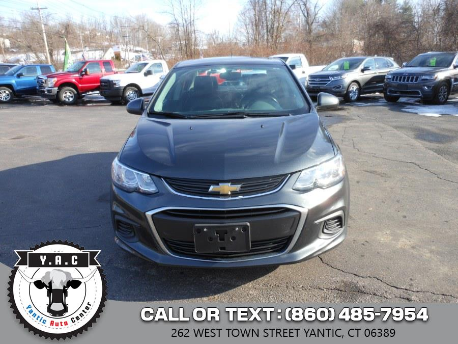 Used Chevrolet Sonic 4dr Sdn Auto Premier 2017 | Yantic Auto Center. Yantic, Connecticut