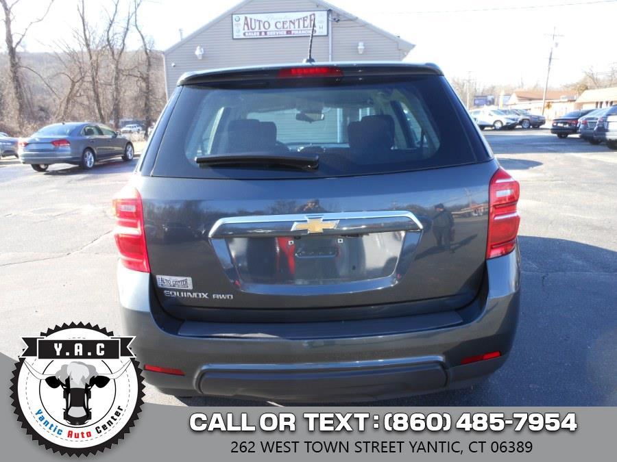 Used Chevrolet Equinox AWD 4dr LS 2017   Yantic Auto Center. Yantic, Connecticut