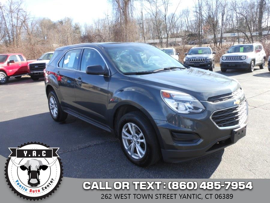 Used 2017 Chevrolet Equinox in Yantic, Connecticut | Yantic Auto Center. Yantic, Connecticut