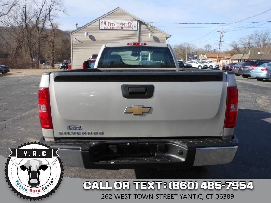 "Used Chevrolet Silverado 1500 4WD Reg Cab 133.0"" Work Truck 2008   Yantic Auto Center. Yantic, Connecticut"