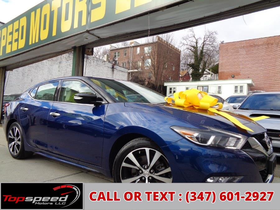 Used 2018 Nissan Maxima in Jamaica, New York | Top Speed Motors LLC. Jamaica, New York