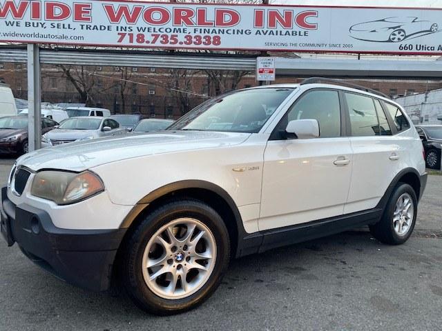 Used 2004 BMW X3 in Brooklyn, New York | Wide World Inc. Brooklyn, New York