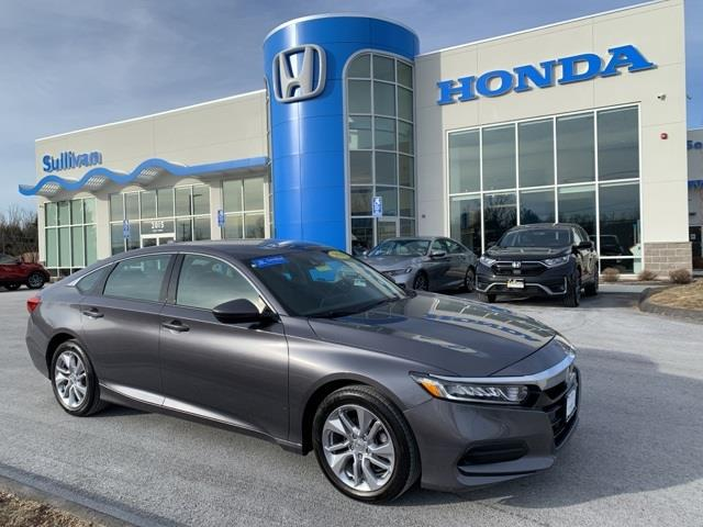 Used Honda Accord LX 2018 | Sullivan Automotive Group. Avon, Connecticut