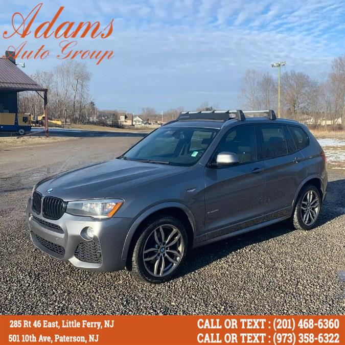 Used 2015 BMW X3 in Paterson, New Jersey   Adams Auto Group. Paterson, New Jersey