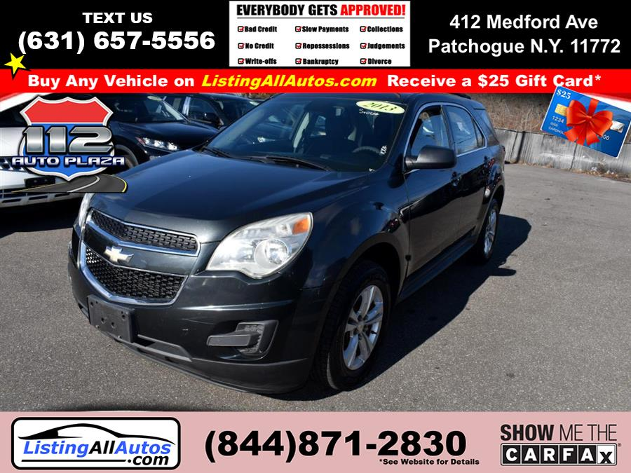 Used Chevrolet Equinox FWD 4dr LS 2013 | www.ListingAllAutos.com. Patchogue, New York