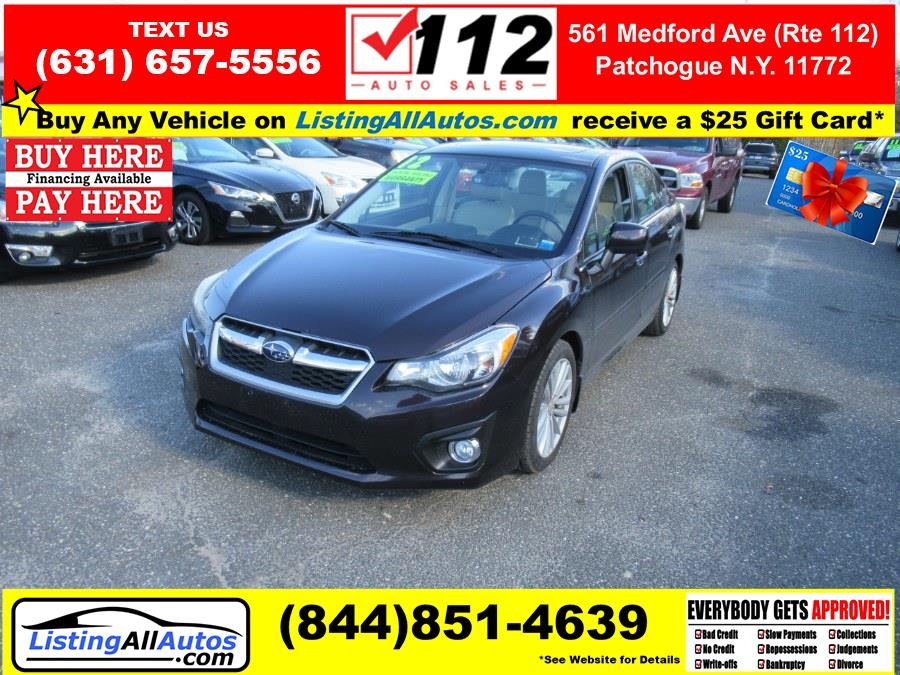 Used Subaru Impreza Sedan 4dr Auto 2.0i Limited 2012 | www.ListingAllAutos.com. Patchogue, New York