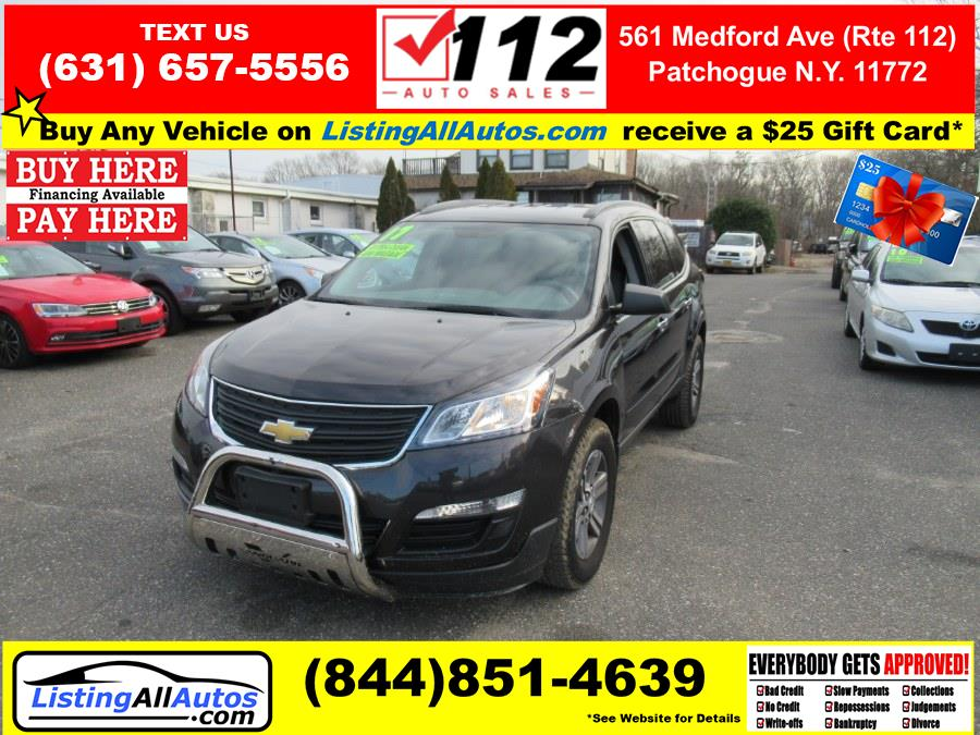 Used 2017 Chevrolet Traverse in Patchogue, New York | www.ListingAllAutos.com. Patchogue, New York
