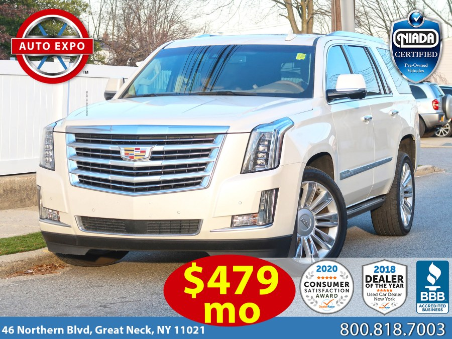 Used 2015 Cadillac Escalade in Great Neck, New York | Auto Expo Ent Inc.. Great Neck, New York