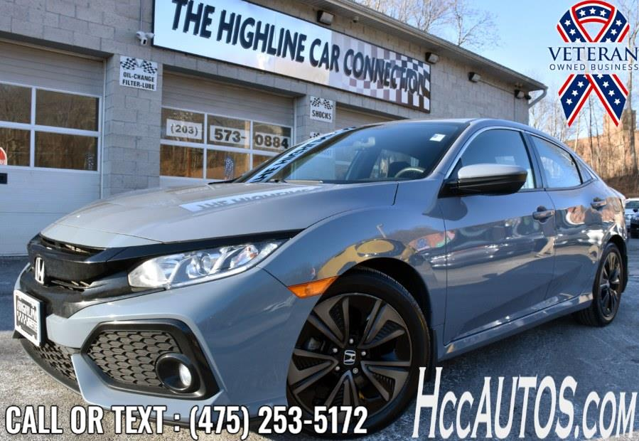 Used 2018 Honda Civic Hatchback in Waterbury, Connecticut | Highline Car Connection. Waterbury, Connecticut