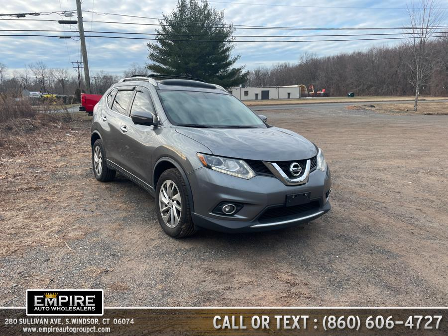 Used Nissan Rogue AWD 4dr SL 2014 | Empire Auto Wholesalers. S.Windsor, Connecticut