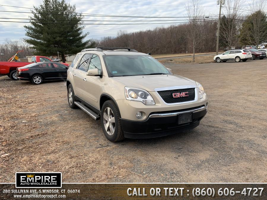 Used GMC Acadia AWD 4dr SLT1 2011 | Empire Auto Wholesalers. S.Windsor, Connecticut