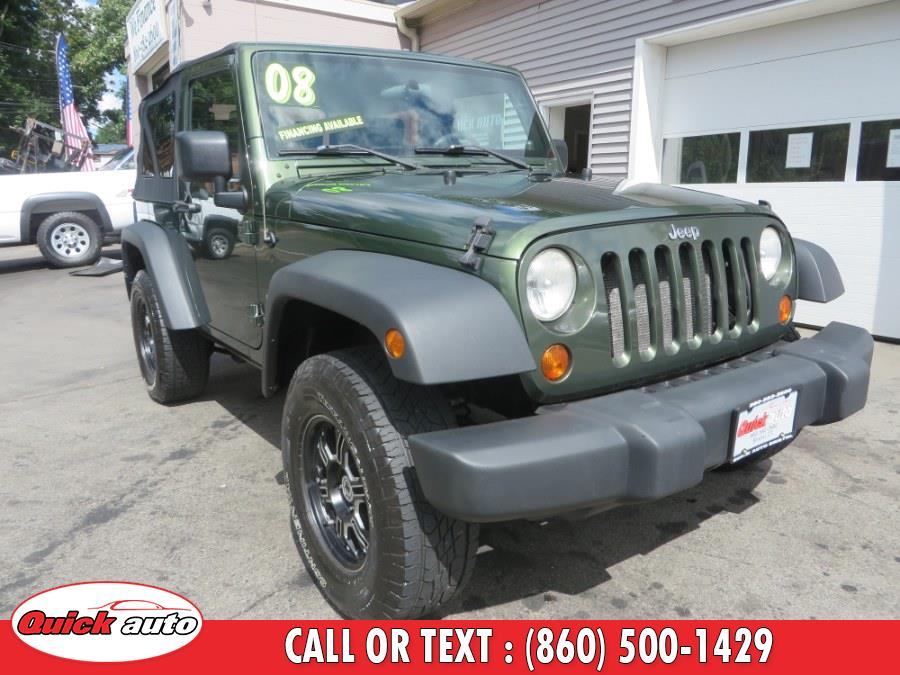 Used 2008 Jeep Wrangler in Bristol, Connecticut | Quick Auto LLC. Bristol, Connecticut