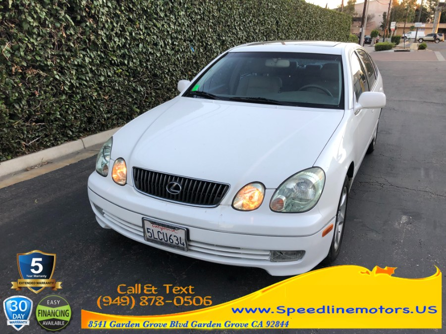 Used 2005 Lexus GS 300 in Garden Grove, California | Speedline Motors. Garden Grove, California