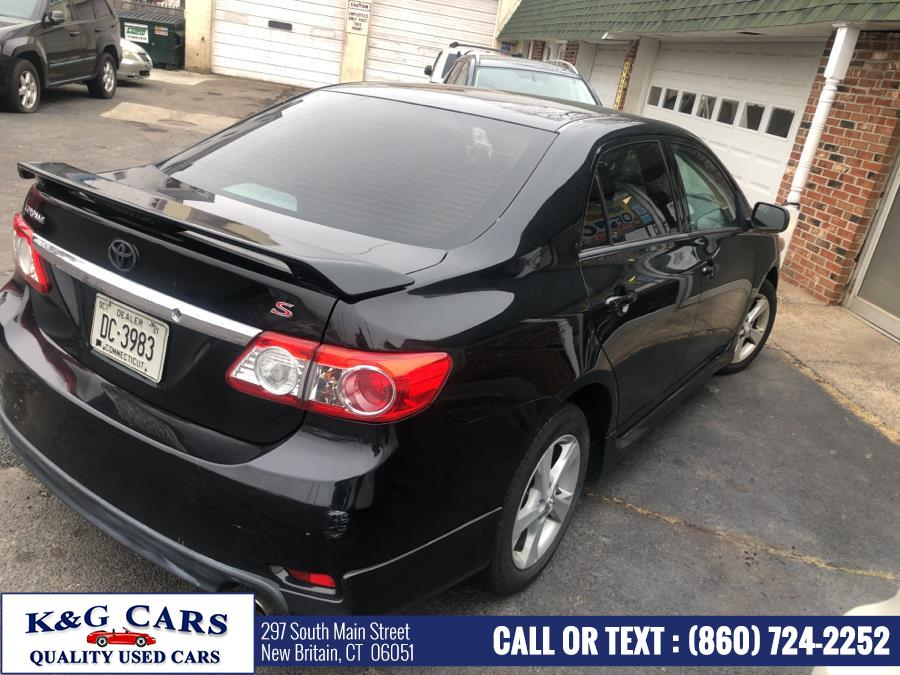 Used Toyota Corolla 4dr Sdn Auto S Special Edition 2013 | K and G Cars . New Britain, Connecticut
