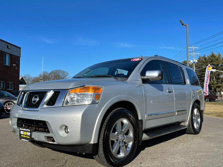 Used Nissan Armada 4WD 4dr Platinum 2010 | Mike And Tony Auto Sales, Inc. South Windsor, Connecticut