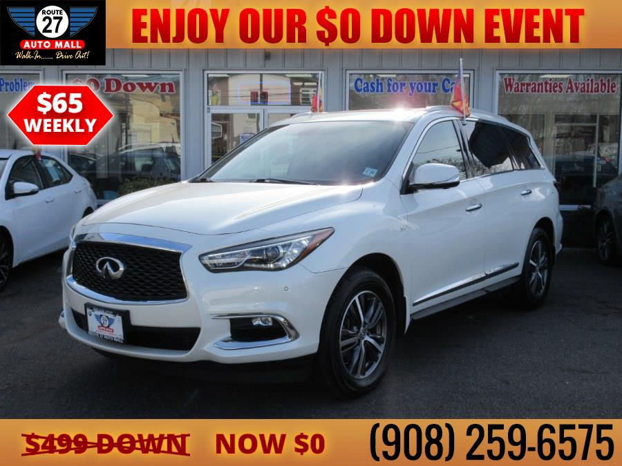Used 2017 INFINITI QX60 in Linden, New Jersey | Route 27 Auto Mall. Linden, New Jersey