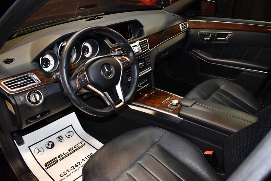 Used Mercedes-benz E-class E 550 4MATIC 2014 | Select Motor Cars. Deer Park, New York