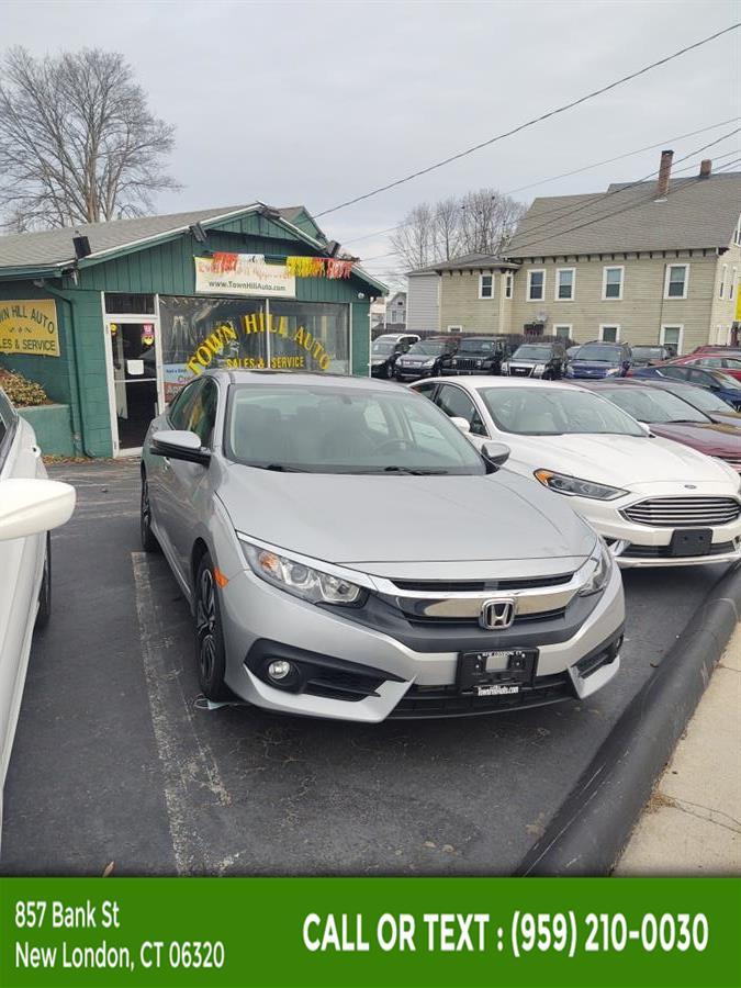 Used Honda Civic Sedan EX-L CVT 2017 | McAvoy Inc dba Town Hill Auto. New London, Connecticut