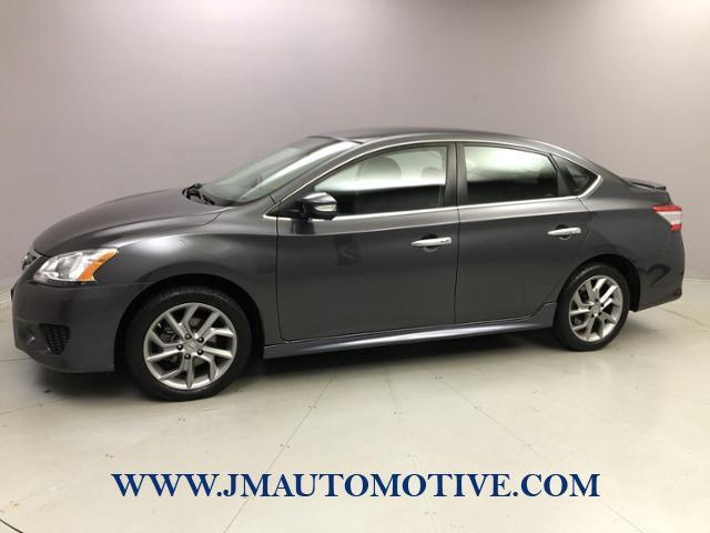 Used Nissan Sentra 4dr Sdn I4 CVT SR 2015 | J&M Automotive Sls&Svc LLC. Naugatuck, Connecticut