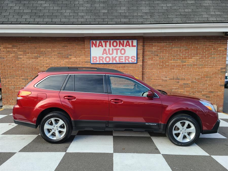 Used Subaru Outback 4dr Wgn 2.5i Premium 2014 | National Auto Brokers, Inc.. Waterbury, Connecticut