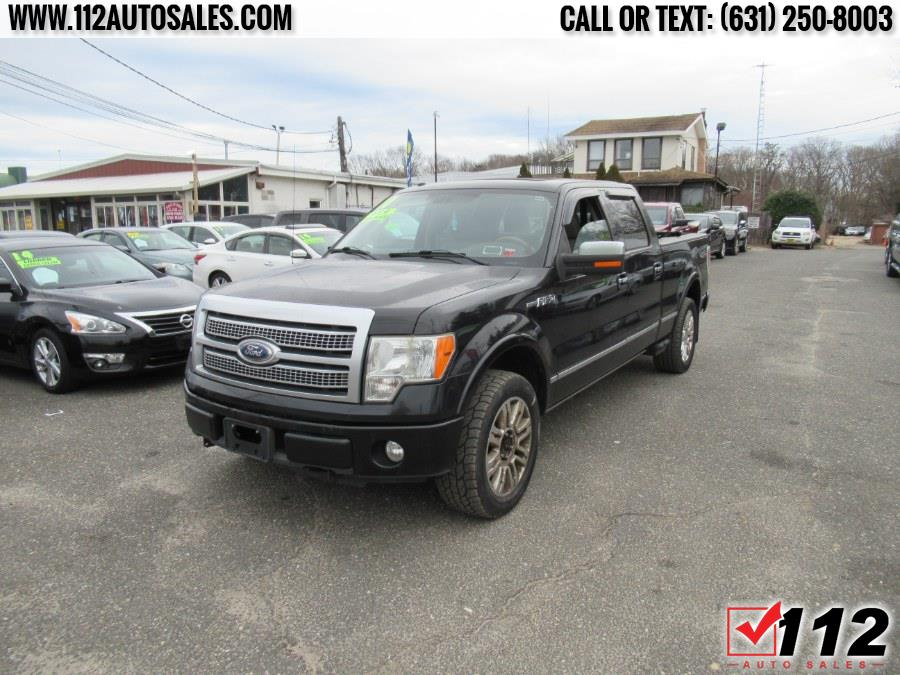 """Used Ford F-150 4WD SuperCrew 157"""" XLT 2010   112 Auto Sales. Patchogue, New York"""