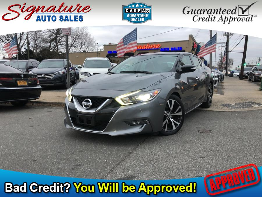 Used 2017 Nissan Maxima in Franklin Square, New York | Signature Auto Sales. Franklin Square, New York