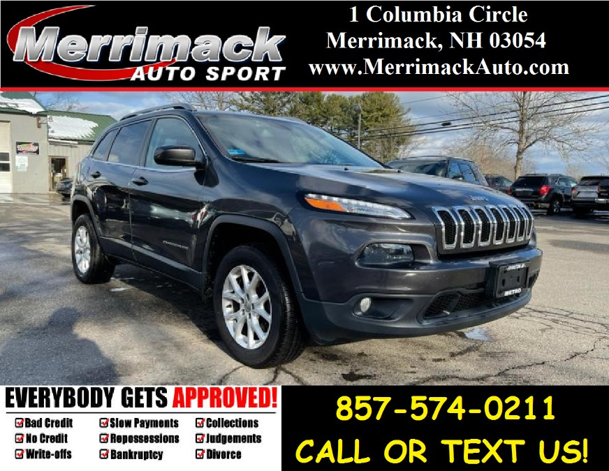 Used 2016 Jeep Cherokee in Merrimack, New Hampshire | Merrimack Autosport. Merrimack, New Hampshire