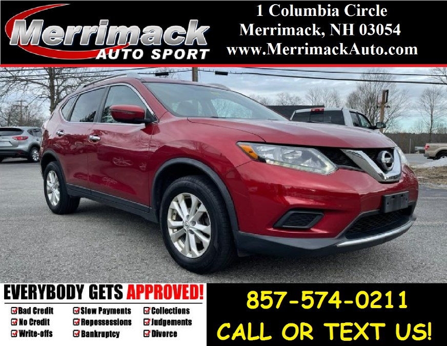 Used 2016 Nissan Rogue in Merrimack, New Hampshire | Merrimack Autosport. Merrimack, New Hampshire