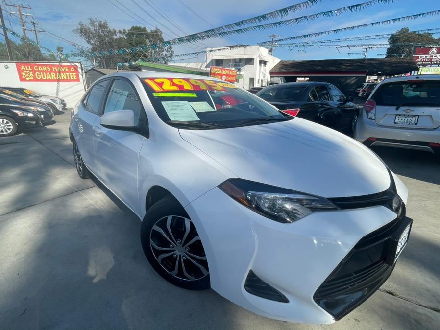 Used 2018 Toyota Corolla in Corona, California   Green Light Auto. Corona, California