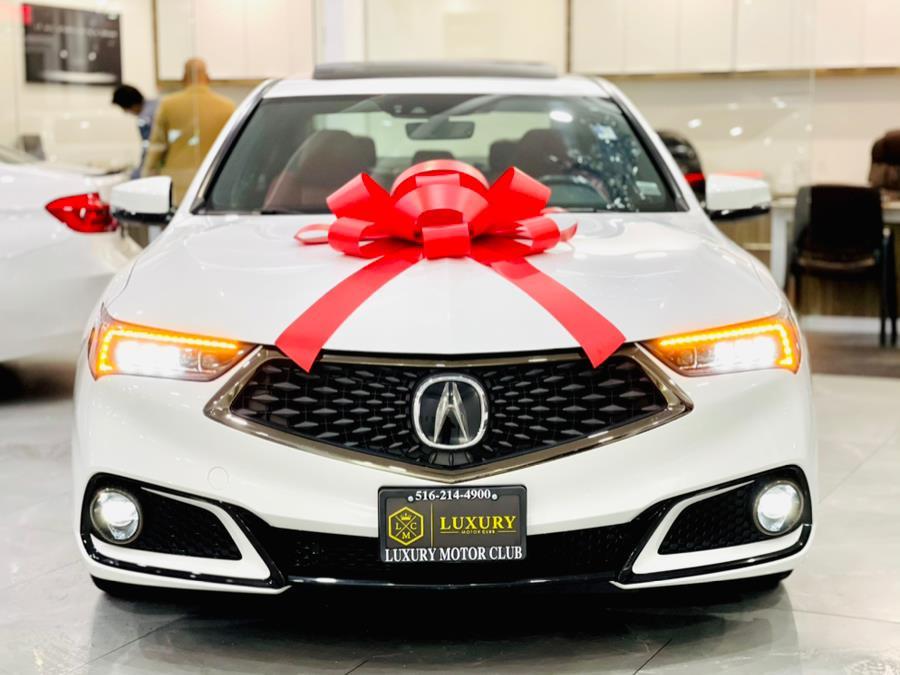 Used Acura TLX 3.5L SH-AWD w/A-SPEC Pkg 2018 | Luxury Motor Club. Franklin Square, New York