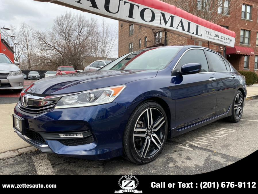 Used 2017 Honda Accord Sedan in Jersey City, New Jersey | Zettes Auto Mall. Jersey City, New Jersey
